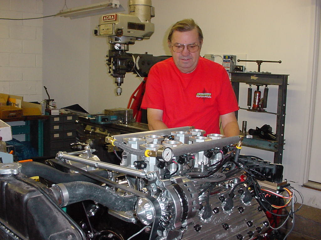 Charles S. Clark and Magnuson modified Eaton supercharger