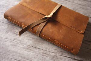 leather bound portfolio
