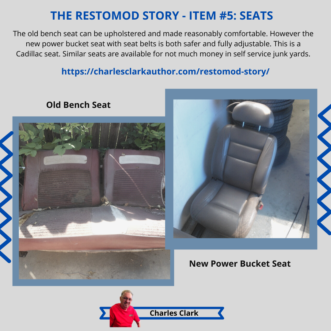 THE RESTOMOD STORY - ITEM #5: Seats
