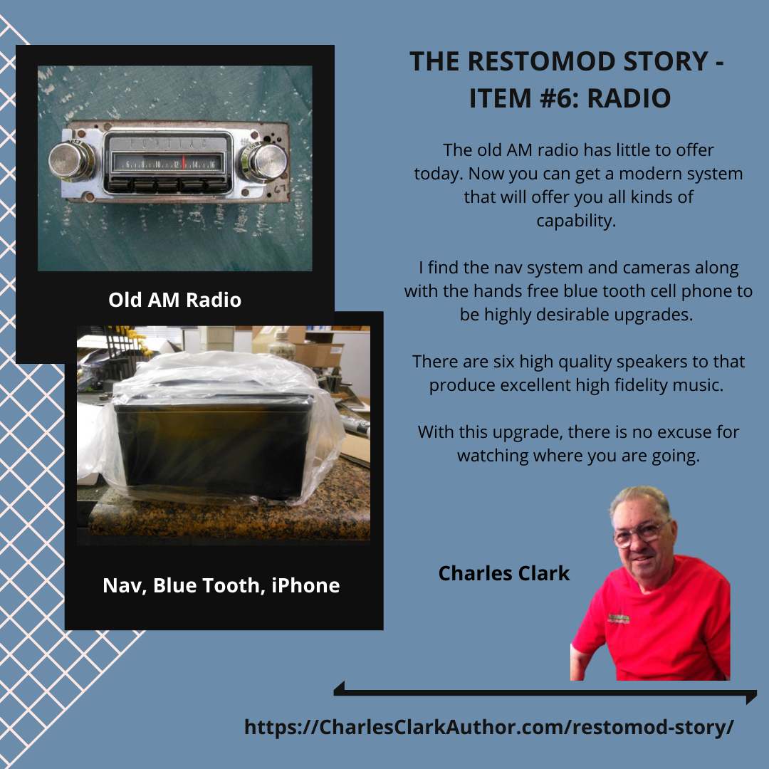 THE RESTOMOD STORY - ITEM #6: Radio