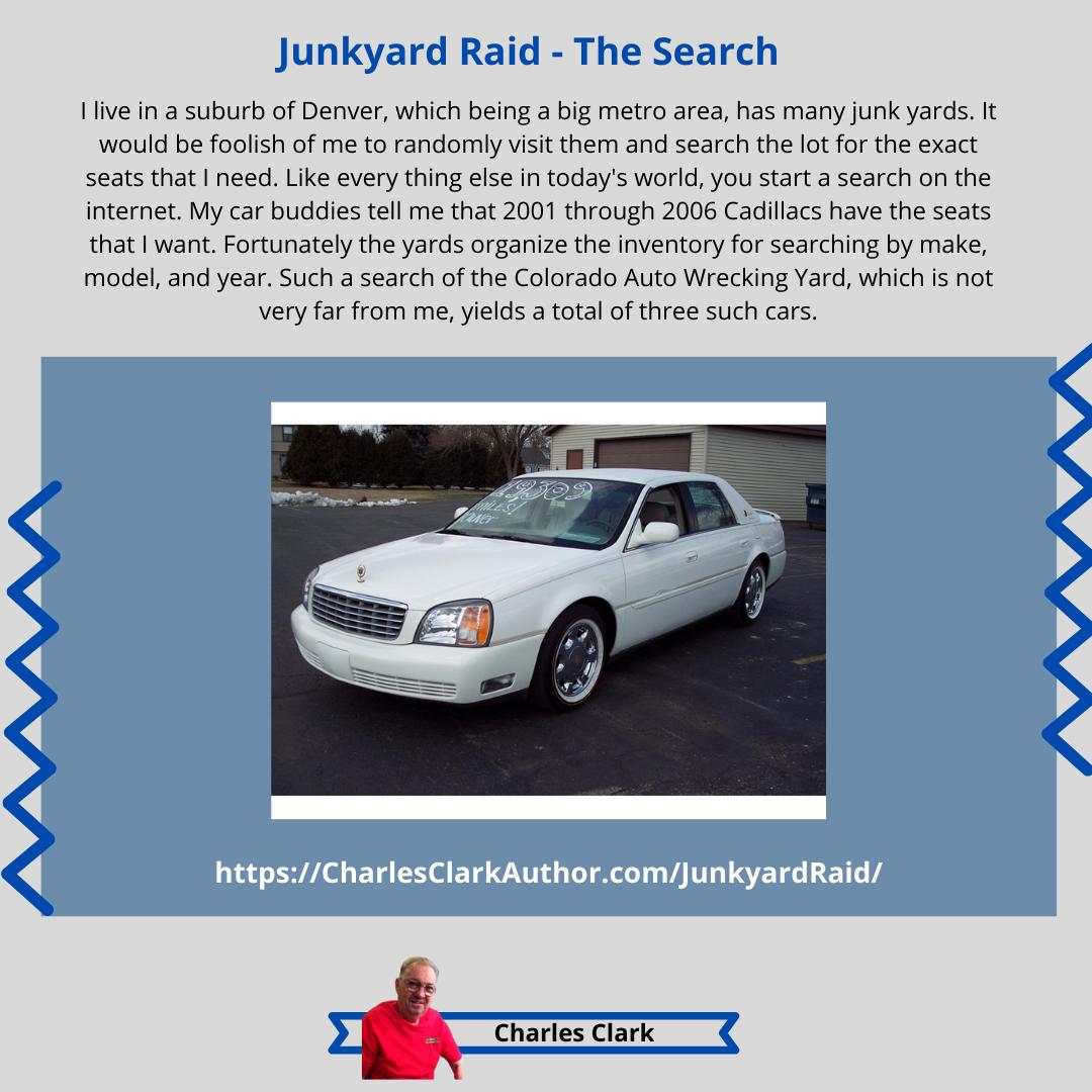 Junkyard Raid The Search